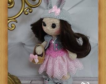 Doll, crochet, Amigurumi
