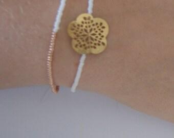 "Duo of bracelets ""Make a Wish"""