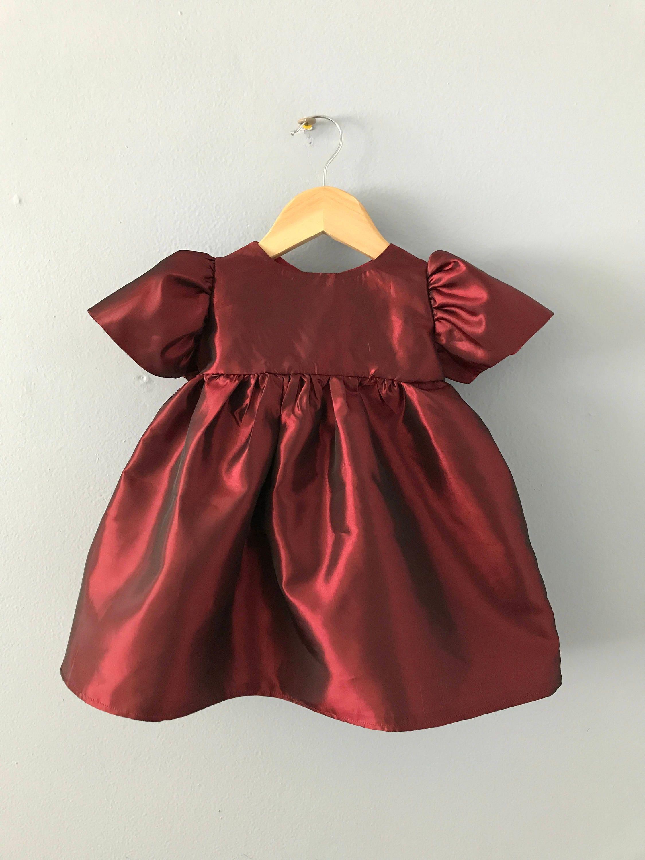 karlite girls dress holiday dress christmas dress infant dress taffeta dress
