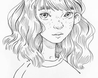 Freckles | print