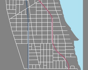 Chicago Community Area Maps - 01 Rogers Park - Dark