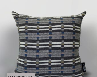 Geometric Grey Cushion (52x52cm)