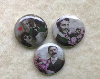Vintage Casanova 1 inch magnets