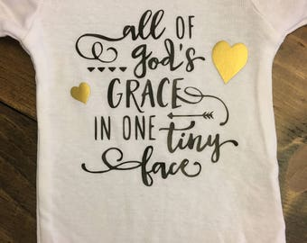 All of God's Grace Onsie
