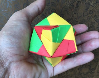 Origami Ball, Modular in Muliticolor