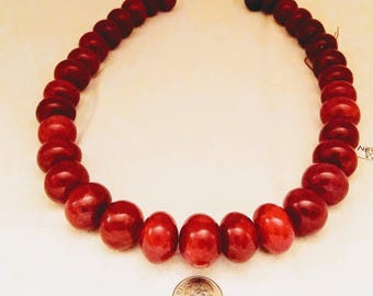 Wow Ruby II Bead Necklace