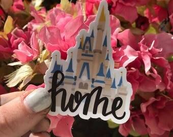 "Walt Disney World ""Home"" Laptop Sticker"