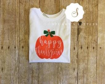 Happy Thanksgiving Pumpkin Shirt
