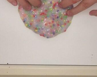 Clear Rainbow Slime