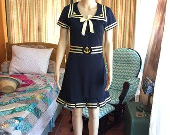 Pinup sailor costume