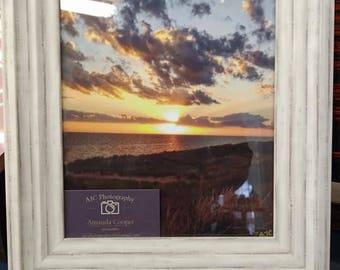 8x10 Framed Sunset Photo