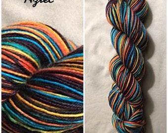 Aztec Hand Dyed Yarn