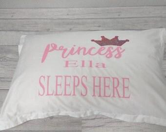 Personalised princess pillow