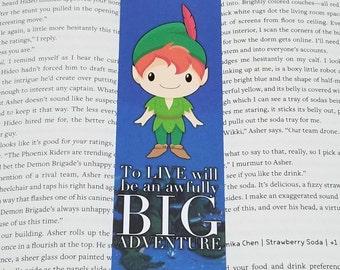 Peter Pan - Rep Designed Bookmark (@howlsmovingbookstagram)