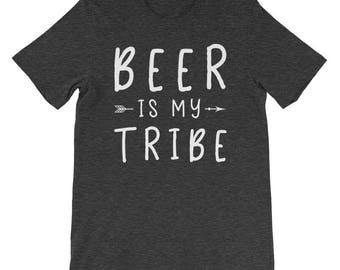 Beer Is My Tribe Shirt - Funny Beer Shirts - Beer Lover Gifts - Beer Tee Shirt