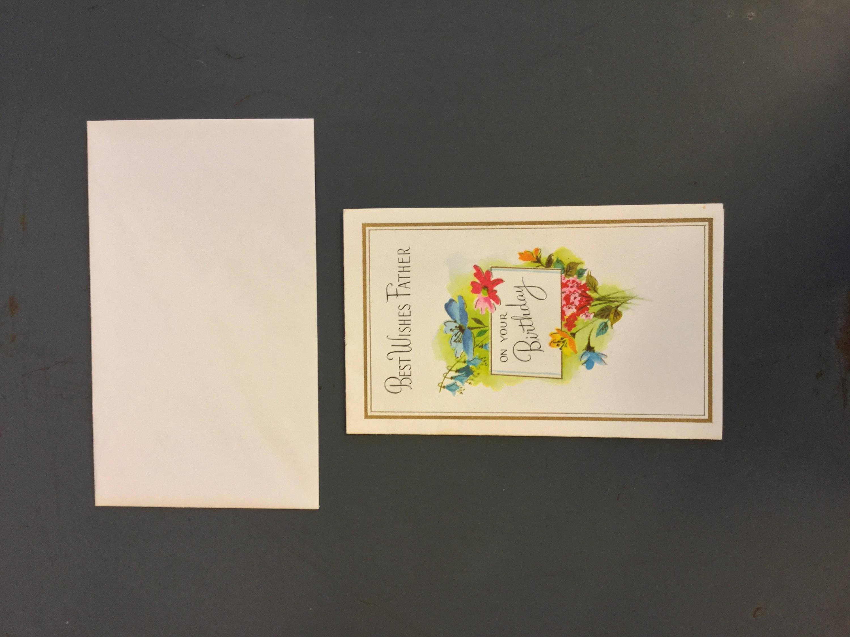 Vintage Charm Craft Birthday Card Vintage Greeting Cards Happy