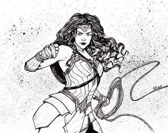 Original - Wonder Woman - Film Look