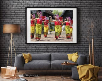 Traditional Thai Dancers Printable Artwork