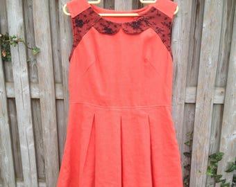 Linen & lace dress