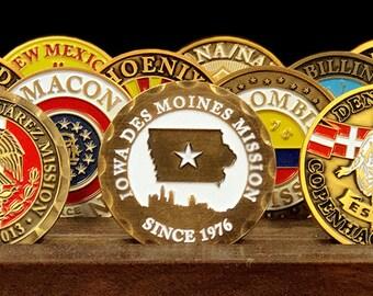 Iowa Des Moines Mission Commemorative Mission Coin