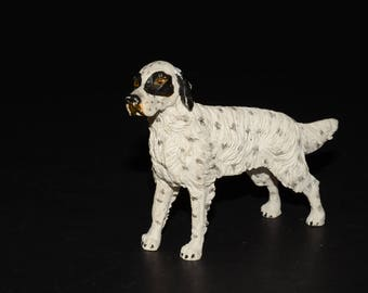 Sandicast small size sculpture, DOG Figurine, Statue, Hand Painted, Resin, Replica Realistic, Gift Pet Lovers, Dog, Collectible
