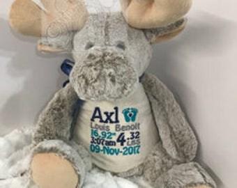 Personalized Stuffed Animal,Stuffed animal,Security bear,Keepsake bear,Personalized gift