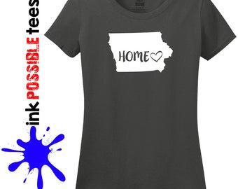 Iowa Home Shirt Iowa Gift T-Shirt Roots Native