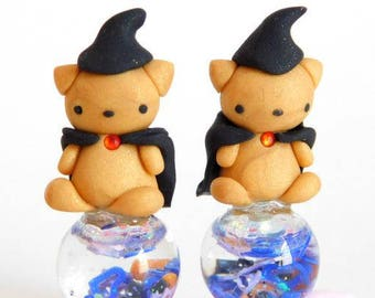 Wizard Baby Bear Charms