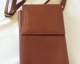 La Gorde Brown Leather Wallet Purse