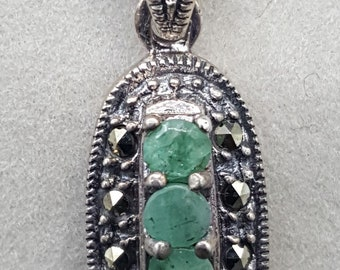 Sterling Silver and Aventurine stones