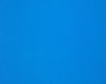 Blue Cotton Fabric, 100% Cotton, Plain Cotton, Fabric by the Yard, Fabric by the Half Yard, Quilting Fabric, Apparel Fabric