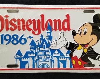 Disney License Plate Etsy