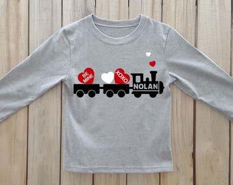 Boys Valentine Shirt Etsy