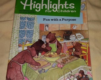 Highlights For Children - Magazine, 1986