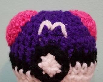 Handmade Crocheted Masterball from Pokemon