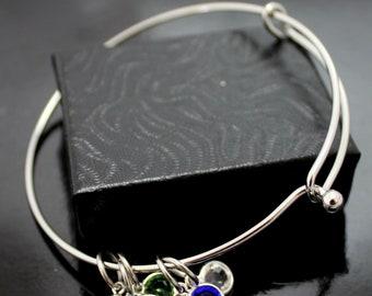 Mother's Bracelet, Grandmother's Bracelet, Gemstone Bracelet, Birthstone Bracelet, Grandma bracelet, Grandkid Bracelet