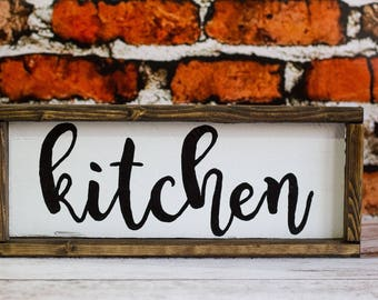 Farmhouse Kitchen Sign Rustic Kitchen Wall Decor Fixer Upper Decor Modern Farmhouse Country Kitchen Farmhouse Style Joanna Gaines