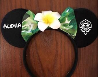 Disney Polynesian Resort Mickey and Minnie Ears