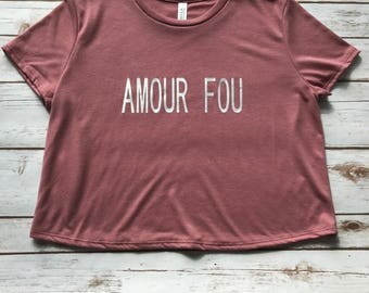 AMOUR FOU (Insane Love)