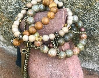 Custom Stacked Bracelet Set