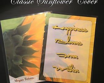 Sunflower Planner cover
