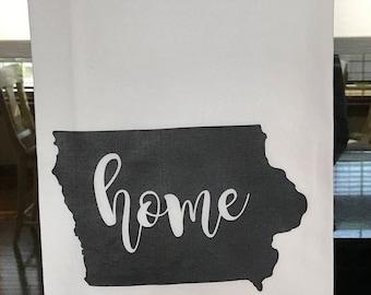 Iowa: Home
