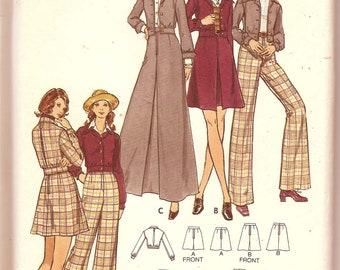Butterick 6912: Trousers, skirts & jacket