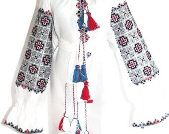 Ukrainian Vyshyvanka Dress Custom Boho Dresses Ukraine Embroidery Bohemian Clothing Vishivanka Kaftan Dubai Abaya Dress