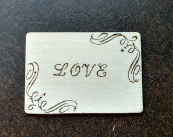 Small Wood-burned Plaque