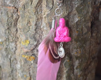 Flying Buddha Necklace
