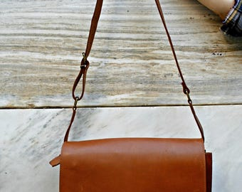 Leather Messenger Bag, Brown Leather, Laptop Business Bag, Leather Briefcase, Gift For Men, Gift For Him, Leather Bag, Men bag, N331
