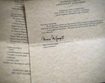 Harry potter acceptance letter etsy school of witchcraft and wizardry acceptance letter harry potter themed party favor gift instant digital spiritdancerdesigns Gallery