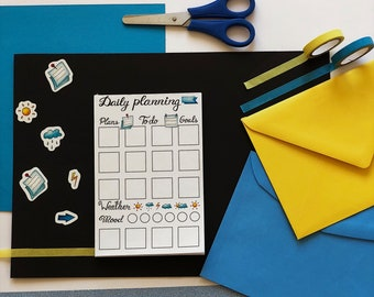 """To do list (notepad) """"Daily planning"""""""