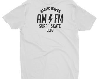 AM/FM Short Sleeve Tee